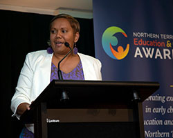 Minister Speaking 2