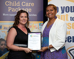 Innovative Practice Finalist with Minister - Murraya