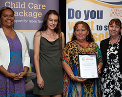 Innovative Practice Finalist with Minister - Smile a Mile